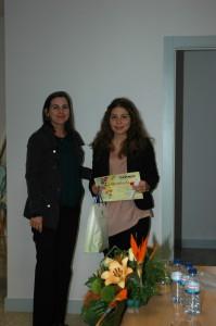 Adriana Ribeiro, 9ºB (3ºCEB)