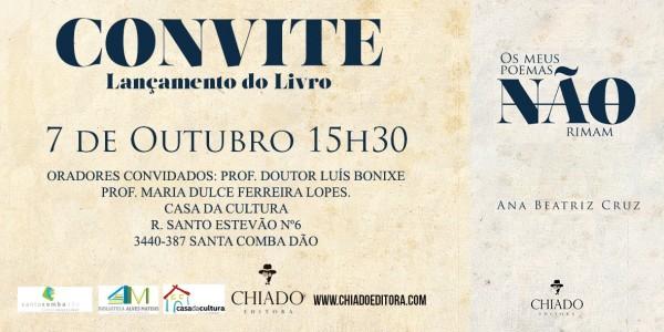 Convite Ana Beatriz Cruz