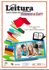 cartaz Concurso de Leitura Concelhio 2019
