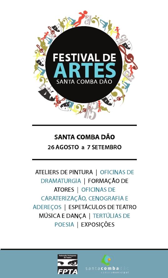 Cartaz Festival Artes